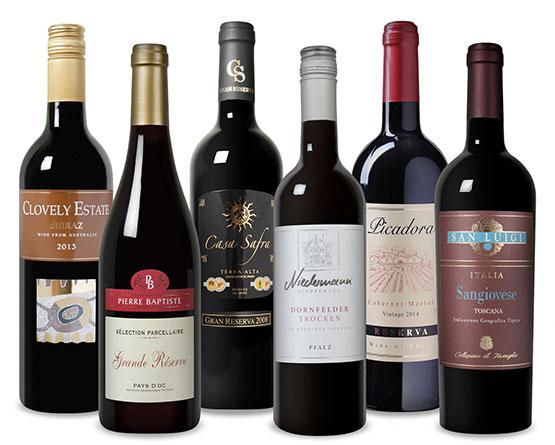 weinvorteil gutschein kostenlose lieferung weißwein rotwein rosewein