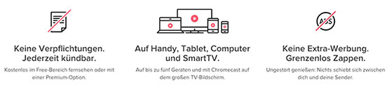magine fernsehen tv sender streaming mobile