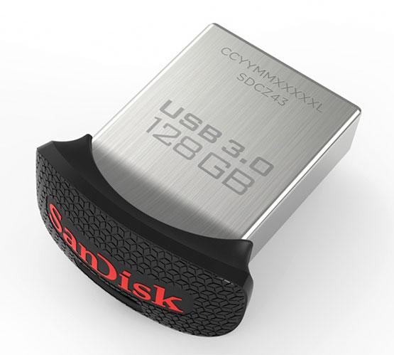 sandisk ultra fit usb 3.0 klein kompakt