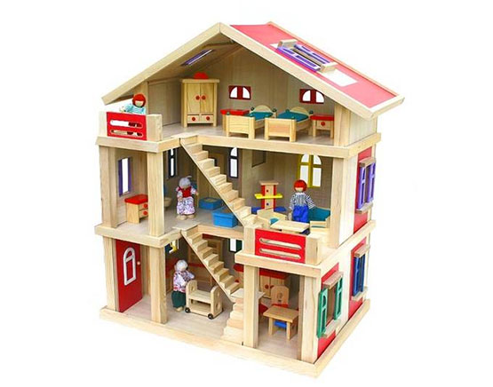lotte puppenhaus möbel puppenfamilie weihnachtsgeschenk mädchen angebot