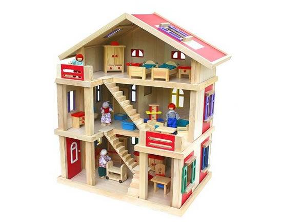 Puppenhaus Angebot Deal Günstig Spielzeug Weihnachtsgeschenk