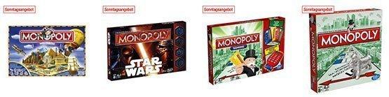 galeria kaufhof monopoly hasbro spiele