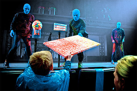 Blue Man Group Berlin Angebot Pauschalreise Deal