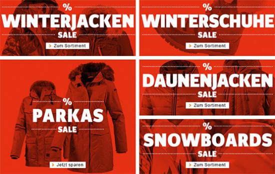 sportscheck sale winterkleidung warme kleidung aktion rabatt