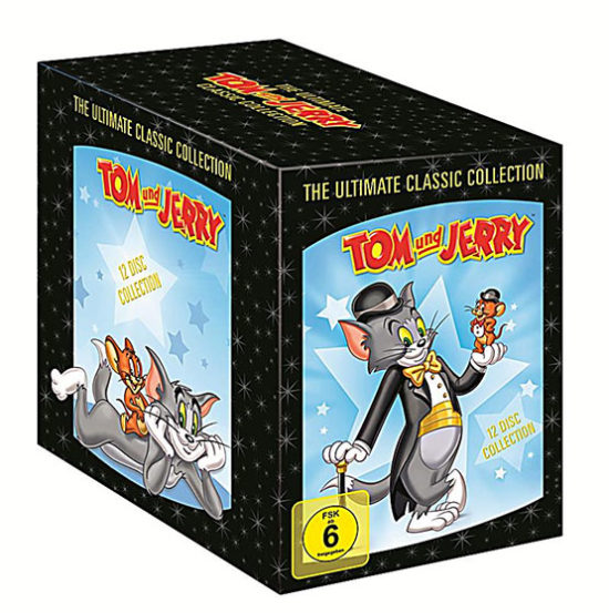 tom & jerry classic collection edition comic cartoon