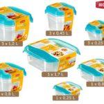 Curver Set 15 Frischhaltedosen mit luftdichtem Verschluss für 20,90€ inkl. Versand