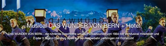 Musical Das wunder von bern fußball hamburg