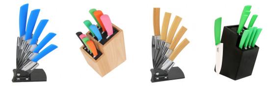 messer set küche messerblock keramikmesser günstig kaufen deal