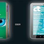 5 Ausgaben c't als Heft oder digitale Version mit effektiven Gewinn von 0,25€