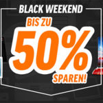 Notebooksbilliger Black Weekend: Bis zu 50% Rabatt