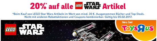 Rabatt Lego Star Wars Aktion Deal