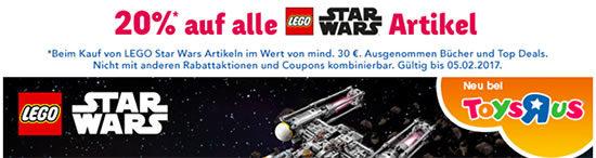 Rabatt Lego Star Wars Aktion Deal