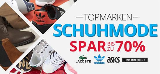 Adidas Converse Asics Lacoste Schuhe Sneaker Boots Deal Angebot günstig online kaufen