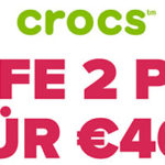 Crocs: 2 Paar für 40,00€ inkl. Versand