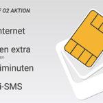 o2: 50 Min + 50 SMS + 1GB Flat für 2,99€ mtl.