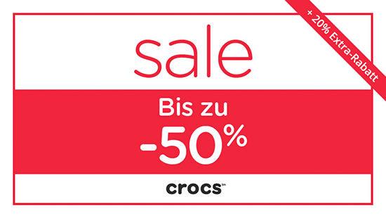 gutschein crocs schuhe angebot günstig