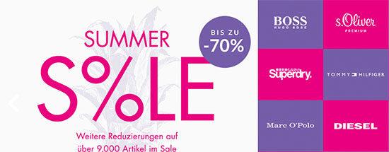 Sale Sommer Angebot Ausverkauf Schnäppchen Sparen Kleidung