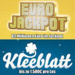 Lottopalace: 1 Tipp EuroJackpot (82 Mio. €) + 40 Rubbellose (bis zu 1.500€ pro Los) für 2,50€ anstatt 8,50€