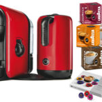 Lavazza LM600 Minu Kaffeekapselmaschine mit Milchaufschäumer + 92 Kapseln für 39,95€ inkl. Versand