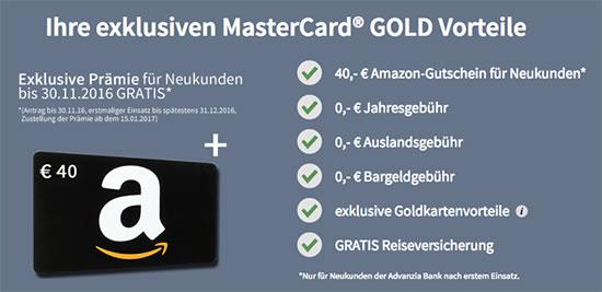 Kreditkarte günstig kostenlos angebot Deal