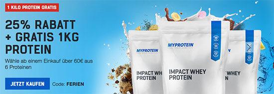 myprotein lebensmittel eiweß sport gutschein