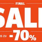 Sportscheck Sale mit bis zu 70% Rabatt + kostenlose Lieferung