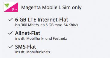 Handyvertrag Schnäppchen LTE Tarif Datenvolumen günstig angebot aktion