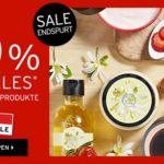 The Body Shop: Sale mit 50% Rabatt + 20% Extra-Rabatt