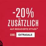 s.Oliver Final Sale mit bis zu 70% Rabatt + 20% Extra-Rabatt