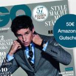 12 Ausgaben GQ für effektiv 6,50€ (dank 50€ Amazon-Gutschein)