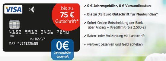 Kreditkarte kostenlos umsonst Prämie Gutschein