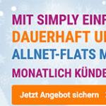 LTE-Tarife mit bis zu 10GB + Allnet-Flat + deaktivierbarer Datenautomatik ab 6,49€ mtl.