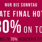 Tom Tailor: Bis zu 70% Rabatt im Sale + 30% Extra-Rabatt