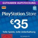 35€ PlayStation-Guthaben für 25€