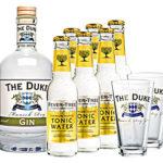 The Duke Gin 0,7l + 6x Fever Tree Tonic + 2 Gläser für 29,90€ inkl. Versand