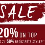 Tom Tailor: Bis zu 50% Rabatt im Sale + 20% Extra-Rabatt