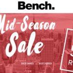 Bench: Mid-Season Sale mit bis zu 50% Rabatt