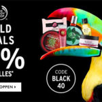 The Body Shop: 40% Rabatt auf fast alles