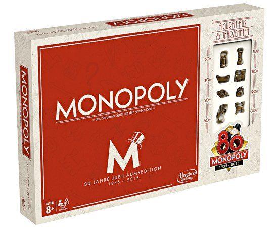 Monopoly Brettspiel günstig Jubiläumsedition hasbro deal