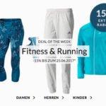 engelhorn: 15% auf Fitness- & Running-Artikel + 5€ Gutschein
