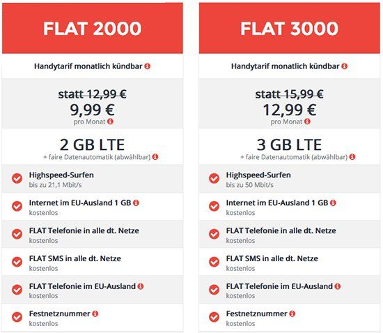 Angebote Mobilfunk deal zeitschrift LTE
