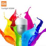 Xiaomi Yeelight RGBW LED-Lampe E27 mit App-Steuerung für 11,99€ inkl. Versand