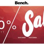 Bench: Sale mit bis zu 60% Rabatt
