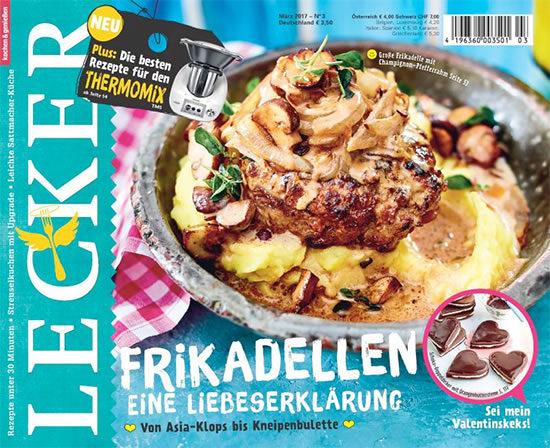 Abo Lecker Kochen Zeitschrift Angebot Deal Kochen Hobbykoch