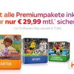 Sky Komplettpaket mit HD ab 29,99€
