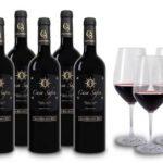 6 Flaschen Casa Safra Terra Alta DO Gran Reserva mit 4 Weingläsern für 47,00€ inkl. Versand
