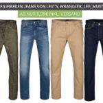 Hosen & Jeans Sale bei Outlet46 – z.B. Wrangler Jeans ab 9,99€