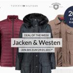 engelhorn: 20% Rabatt auf Jacken & Westen