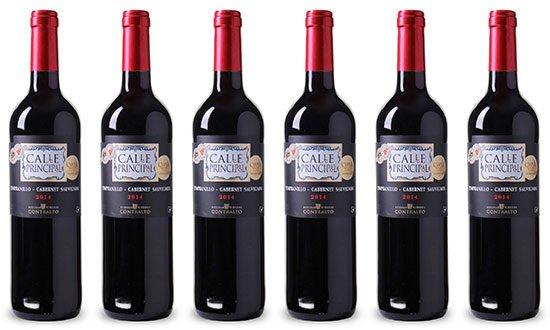Rotwein Angebot Spanien Bodegas Viñedos Contralto Calle Principal Weinvorteil
