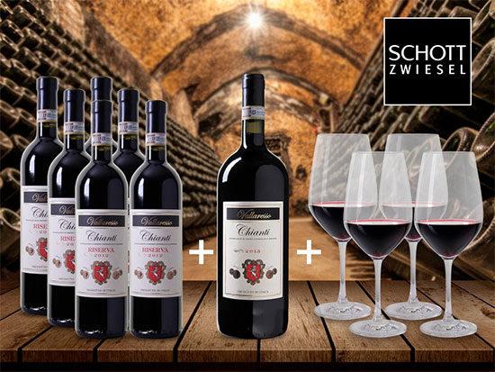 Angebot Weinpaket Deal Günstig Chianti Schnäppchen Rotwein
